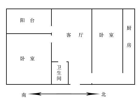 暖气井里面的结构图