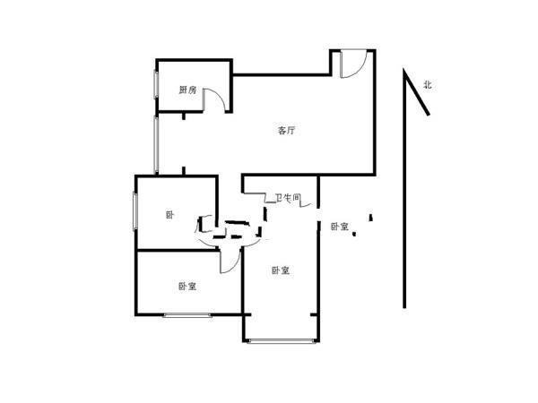推推99北京房产网世安家园出租房房源图片