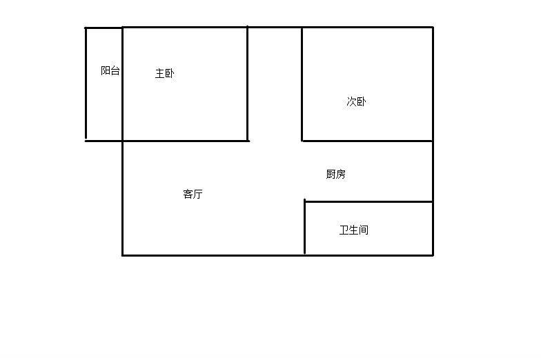 清华校内 温馨女生宿舍招租 女生四人间图片
