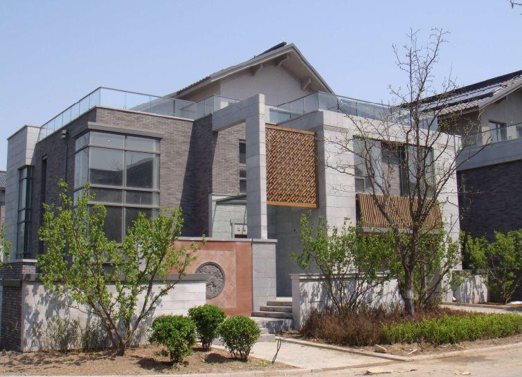 中央别墅区优山美地A区 新中式独栋 700平米花园 临湖 税费低-顺义区