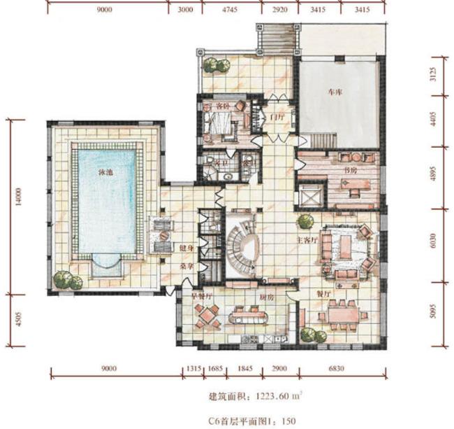大宅府邸别墅设计图