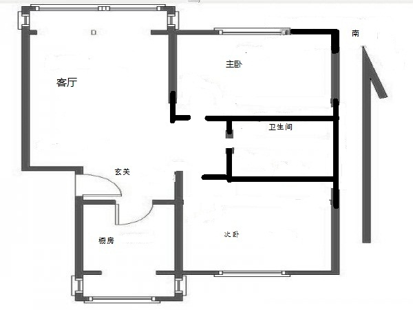 k2海棠湾_户型图