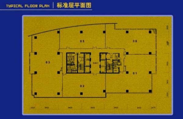北京富力双子座户型图