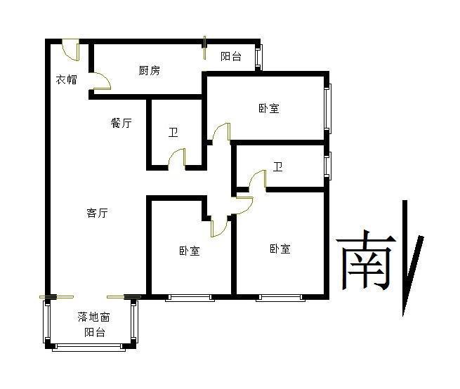 北京天通中苑户型图