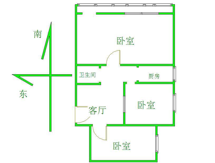 北京万明园户型图