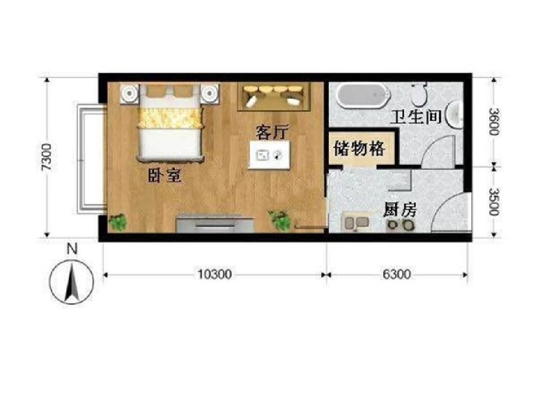 推推99北京房产网海晟名苑户型图