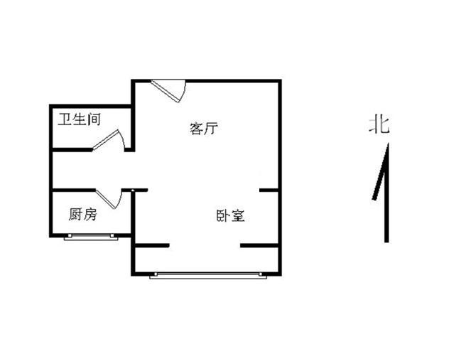 推推99北京房产网鹿海园一里户型图