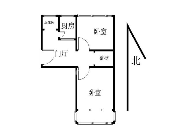北京月坛北街小区户型图