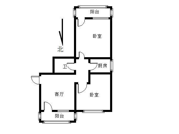 北京厂洼小区户型图