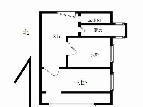 北京北营房东里户型图