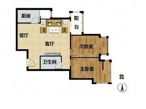 北京大屯里小区户型图