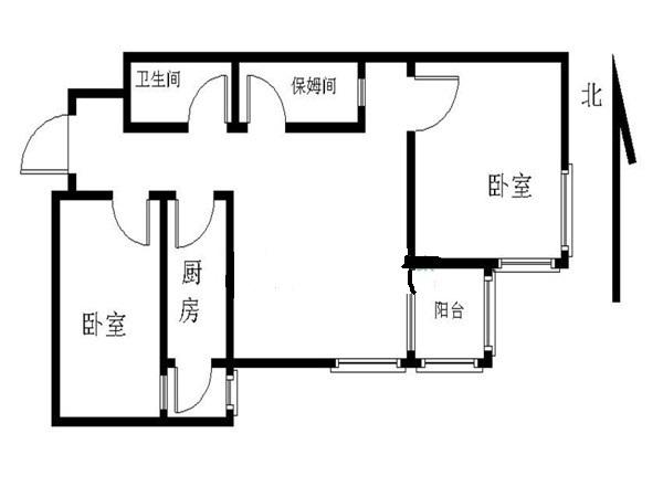 北京远见名苑户型图