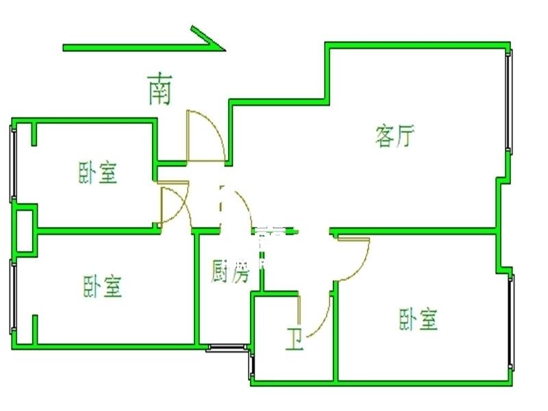 北京中国铁建国际花园户型图