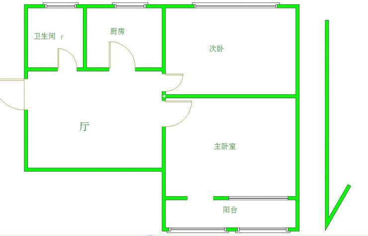 北京月坛南街户型图