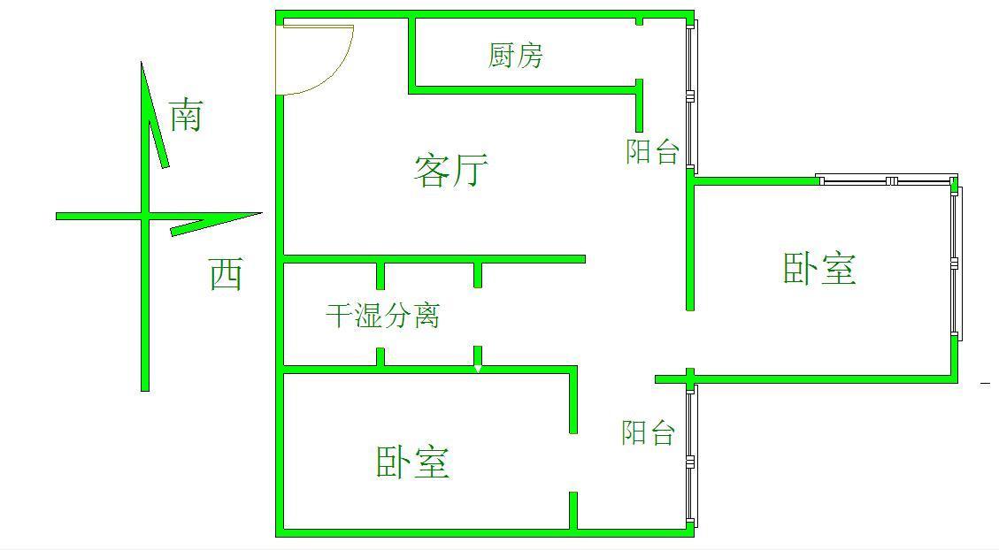 北京三里河一区3号院户型图