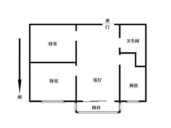 北京友谊社区户型图
