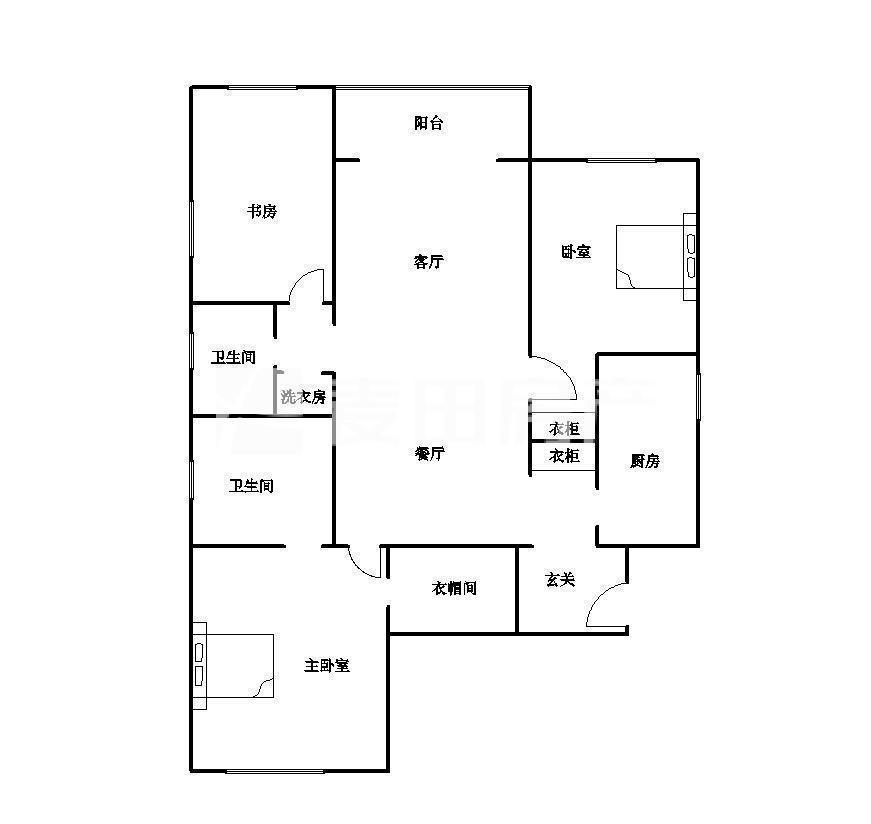 推推99北京房产网海润国际公寓户型图