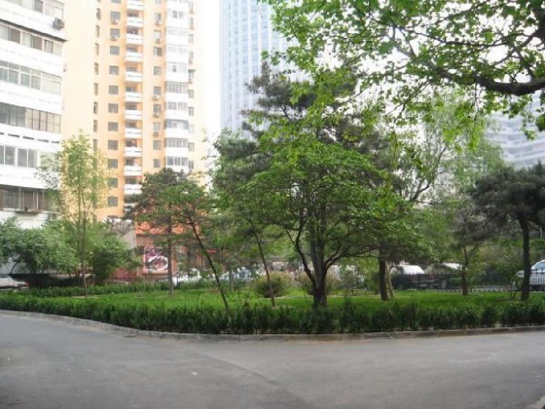 北京芳群园二区外景图