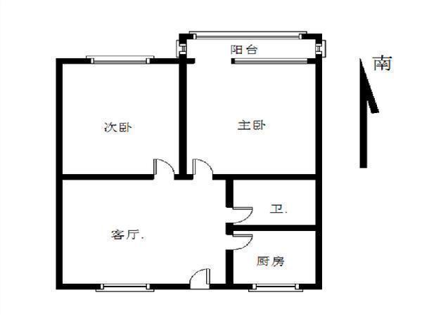 北京芳群园二区户型图