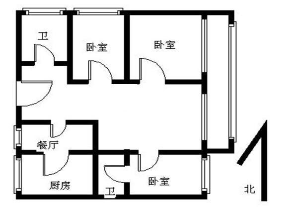 推推99北京房产网天通苑本三区户型图