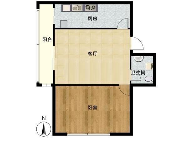 推推99北京房产网望京新城户型图