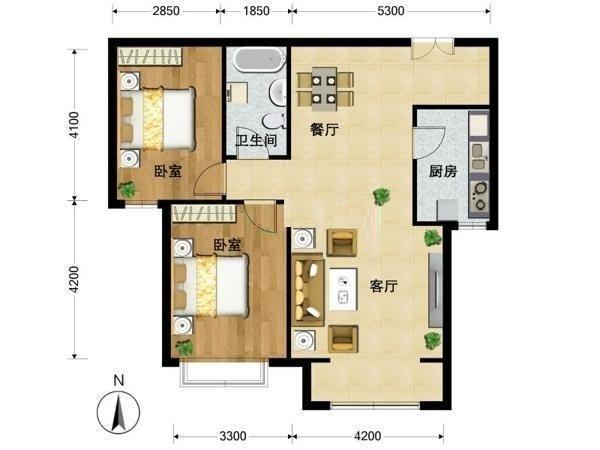 推推99北京房产网北京新天地户型图
