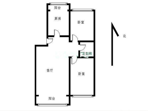 推推99北京房产网双惠苑小区户型图