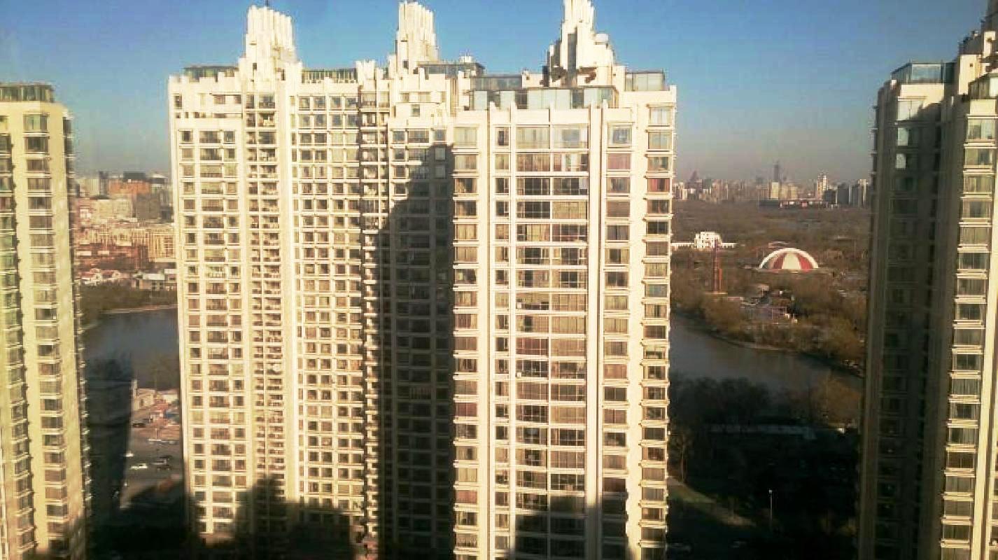 北京棕榈泉国际公寓外景图