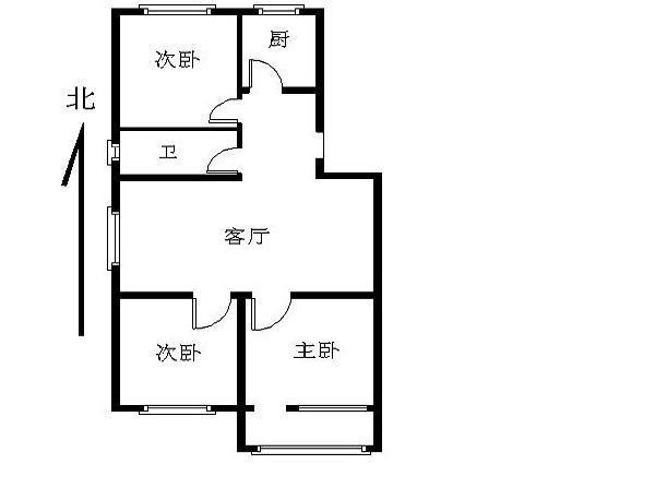 推推99北京房产网定慧寺西里户型图