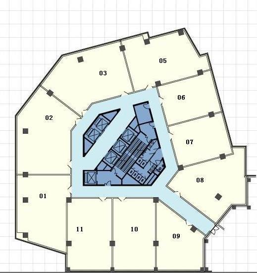 北京富尔大厦户型图