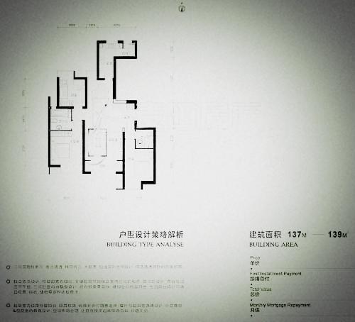 北京融科.橄榄城三期户型图